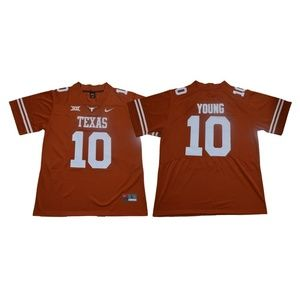 Texas Longhorns Vince Young Jersey
